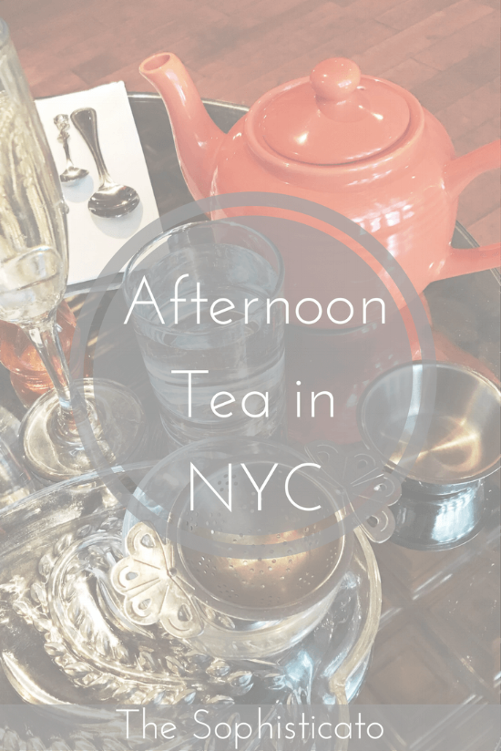 Afternoon Tea NYC
