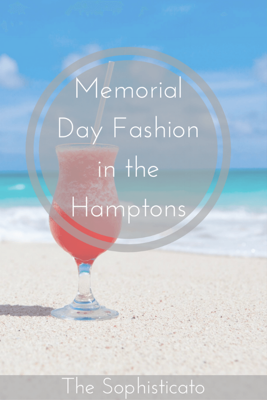 Hamptons Memorial Day Fashion