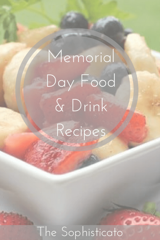 Memorial Day Food & Drink Recipes