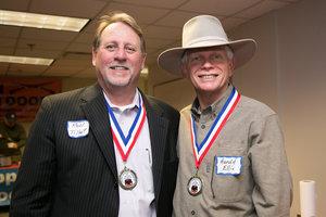 Five-time winners Ron Tillett and Harold Ellis