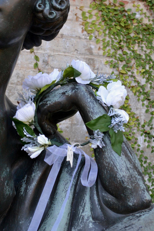 Blanca Floral Halo
