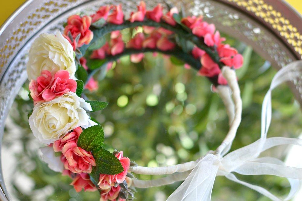 Spring Equinox Floral Halo