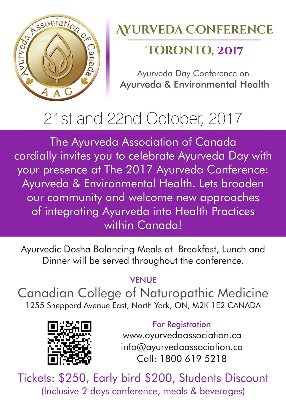 VISIT THE WEBSITE FOR DETAILS:  DR. ATHPARIA WILL BE SPEAKING ON DAY 2 OF THE CONFERENCE