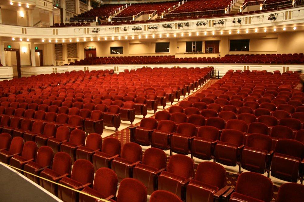 Duke Energy Center for the Arts - Mahaffey Theater - Inside