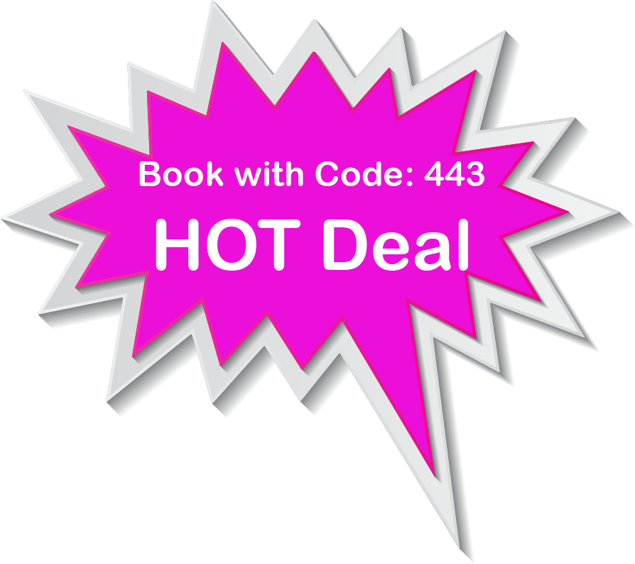 Book with Code 443 on https://book.bookingcenter.com/01/?site=AVAHOT