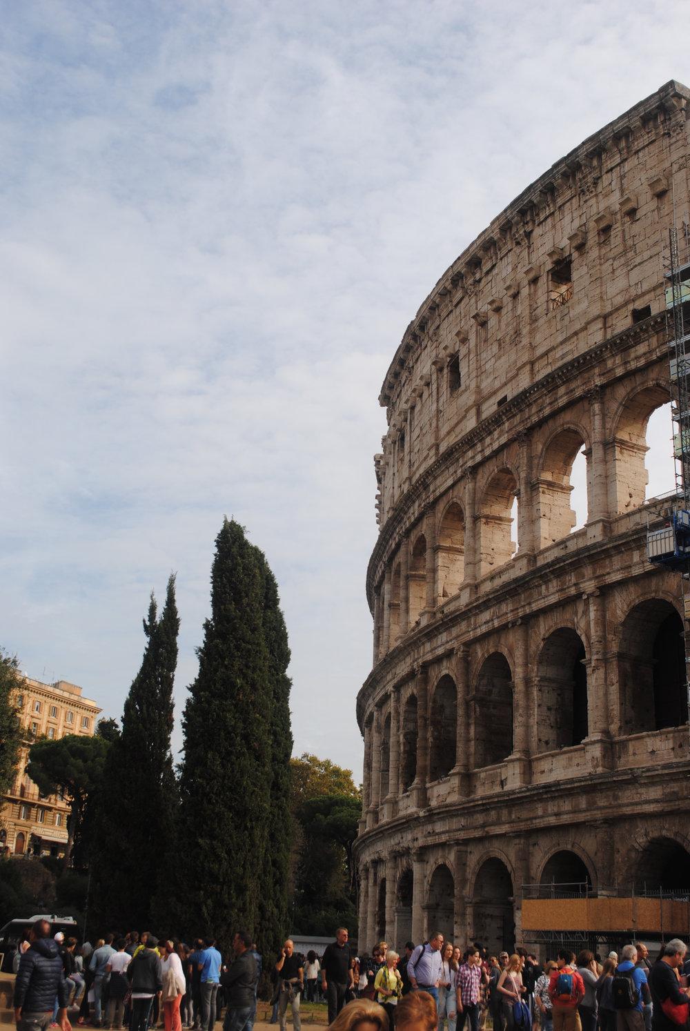 A Roman Goodbye