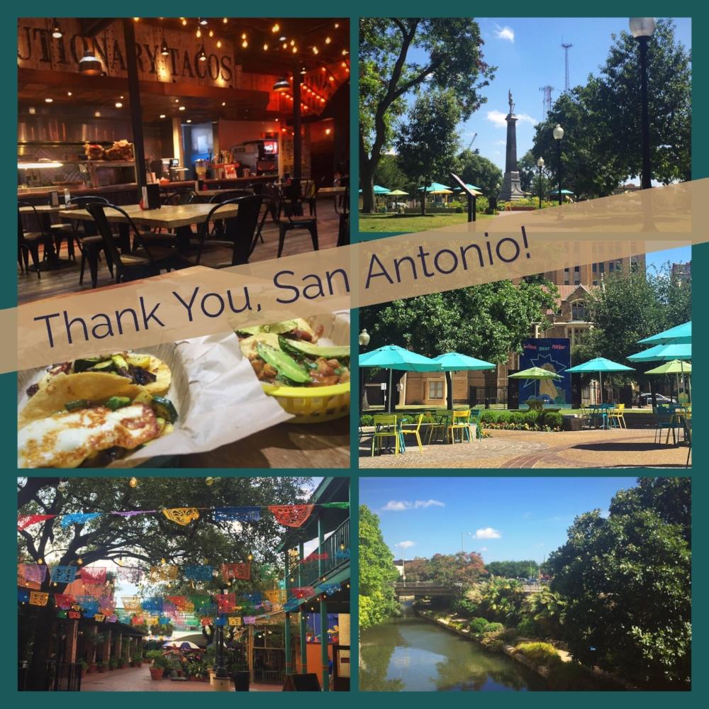 Zorah's Tour to San Antonio, Texas