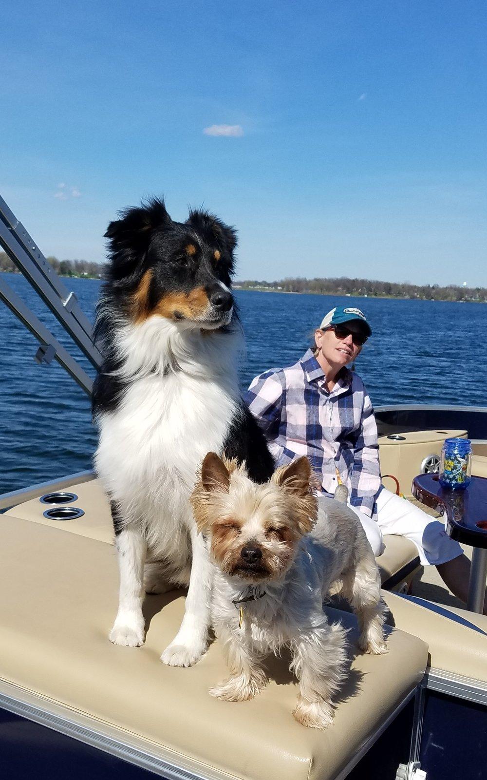lori boat dogs.jpg