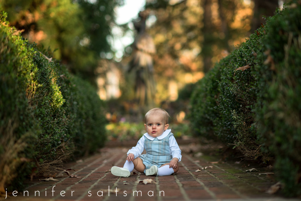 Baby Boy Turns One | Memphis Baby Photographer