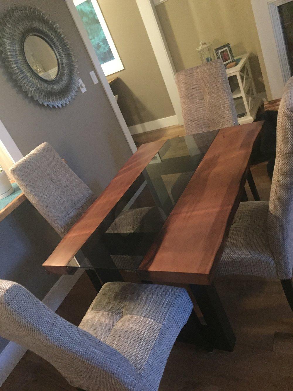 Junior Silhouette Cedar Table