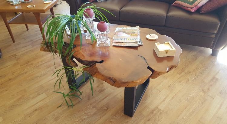 Cedar Burl Coffee Table