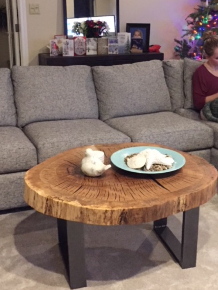 """Two Become One"" Garry Oak Table"
