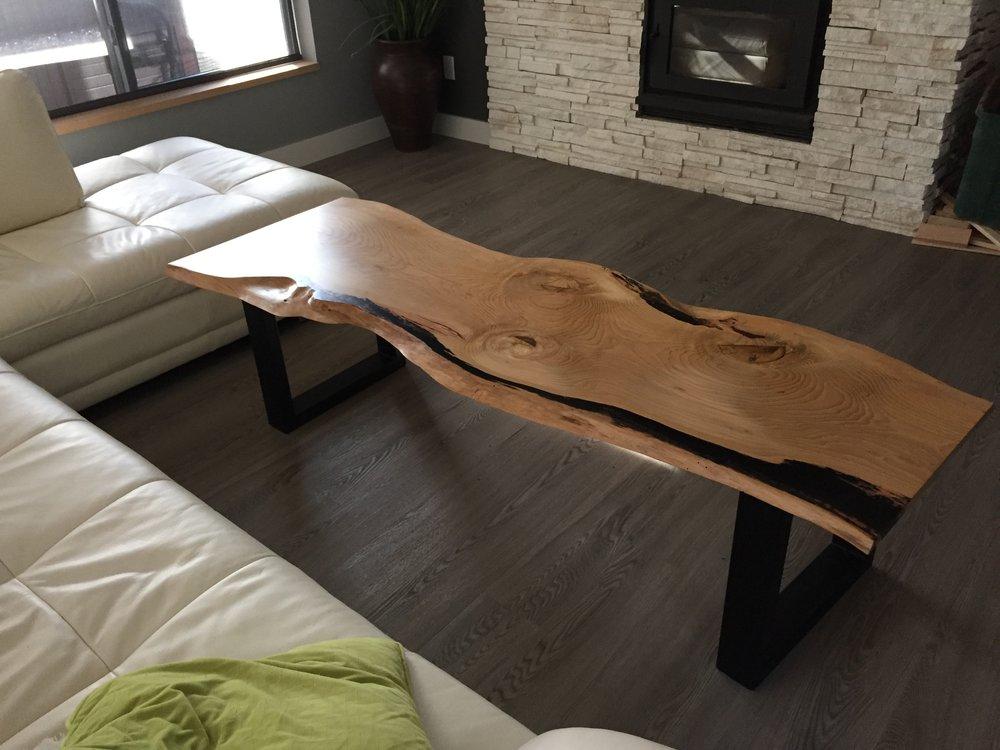 Curly Maple Coffee Table.JPG