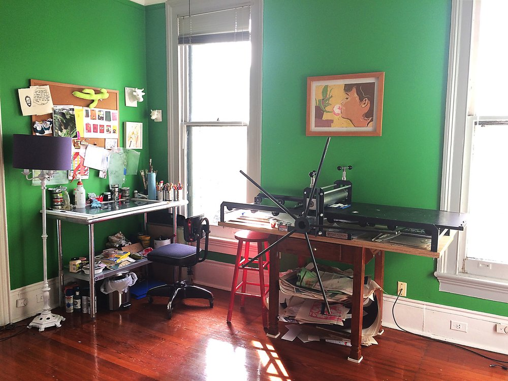 Studio Space in Uptown, New Orleans