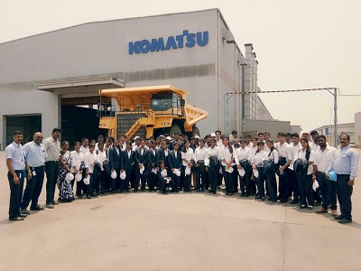 "VISIT TO ""KOMATSU INDIA PVT LTD"""