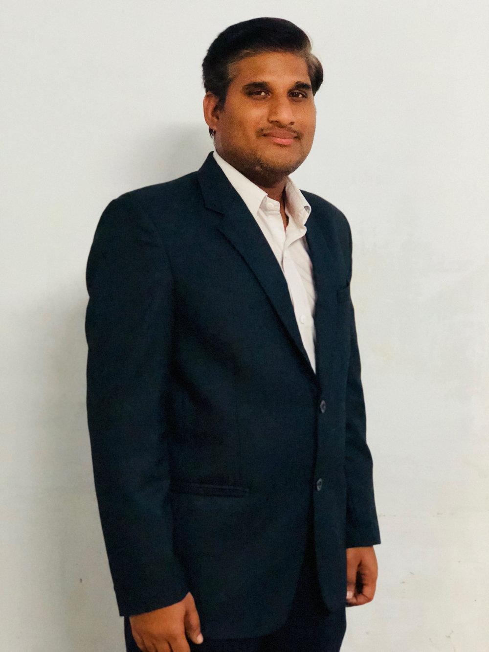 Mr. D. Krishnamoorthy     B.Tech., M.B.A.,