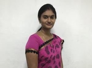 Mrs. B. Neeraja     B.Com., M.B.A., NET.,