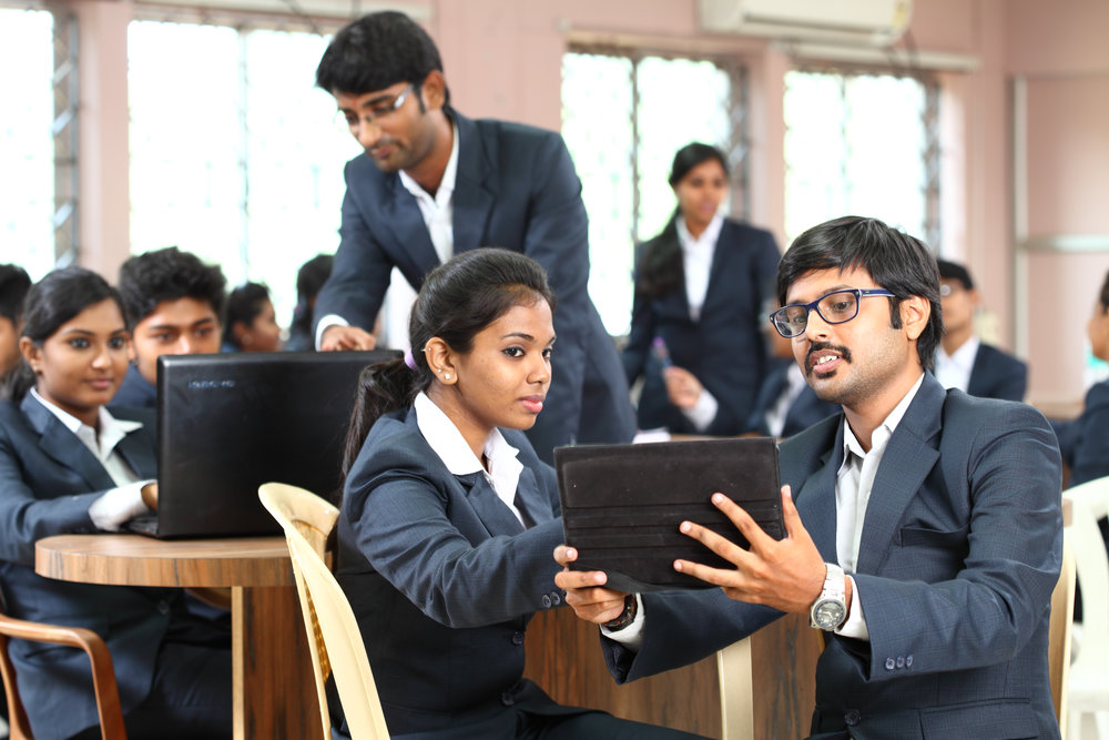 MILA (Multiple Interacting Learning Agorithm) : The classroom hours include lectures intermixed with students group activities like Role Plays, Group based interactions, Mind mapping etc.