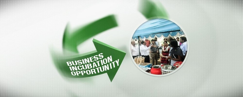 INCUBATION CELL : Initiated to encourage the spirit of entrepreneurial skills among the student community.
