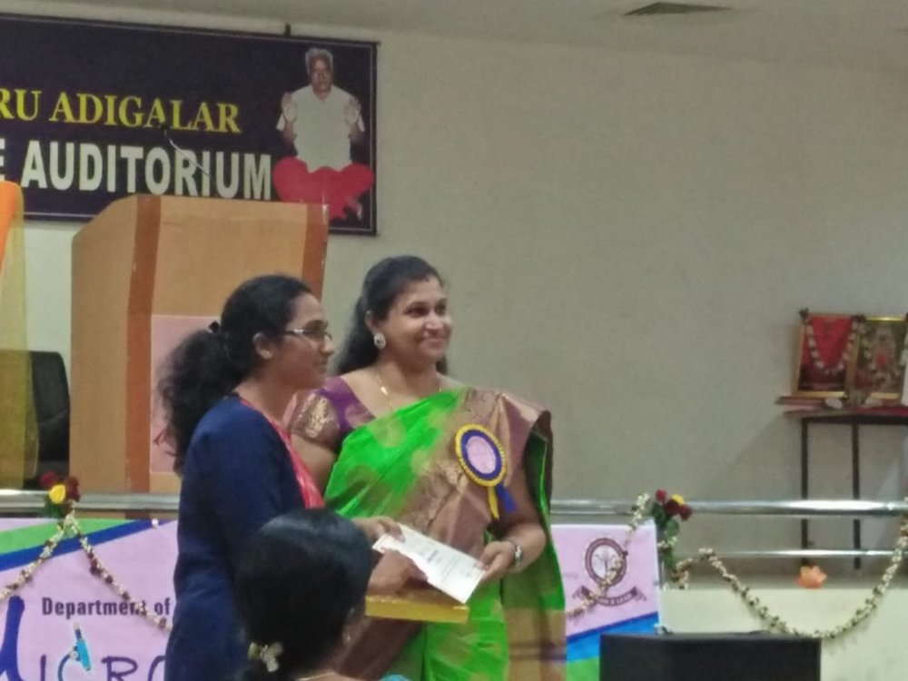SESSION BEST PAPER AWARD DR. RESHMA