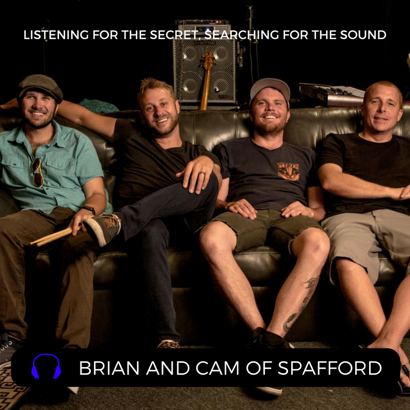 Brian and Cam of Spafford