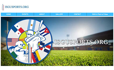"""isgusports.org    Platform:  I created the website on the Wix platform.   Extras:  It has a custom """"Event"""" database and """"Event Creation"""" form page I created. The client can put in the event info on the form. The info is saved in the database. The event info is posted on the appropriate events page.   Graphics:  The graphics where created by me using Illustrator and Photoshop."""
