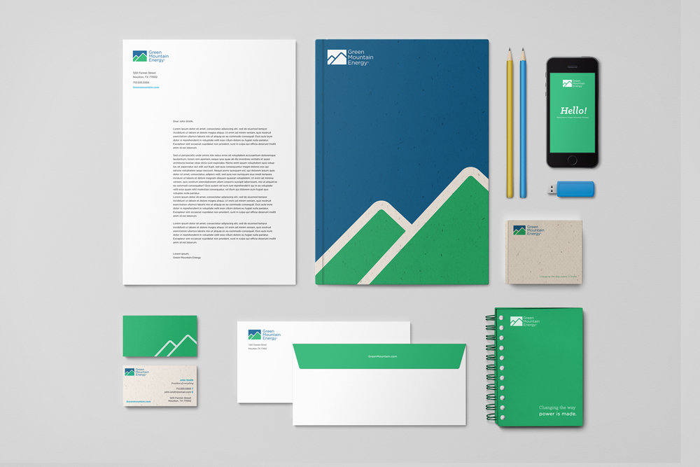 Green Mountain Energy Brand Refresh