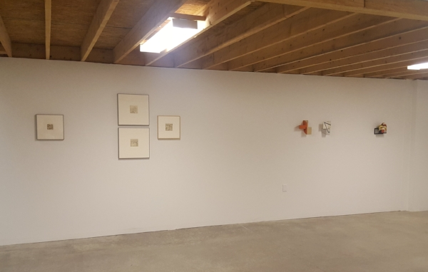 Installation view of 5. Gallery's   small  exhibition .