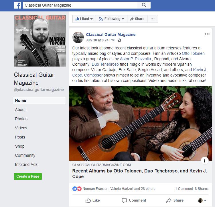 Classical Guitar Magazine_duo tenebroso