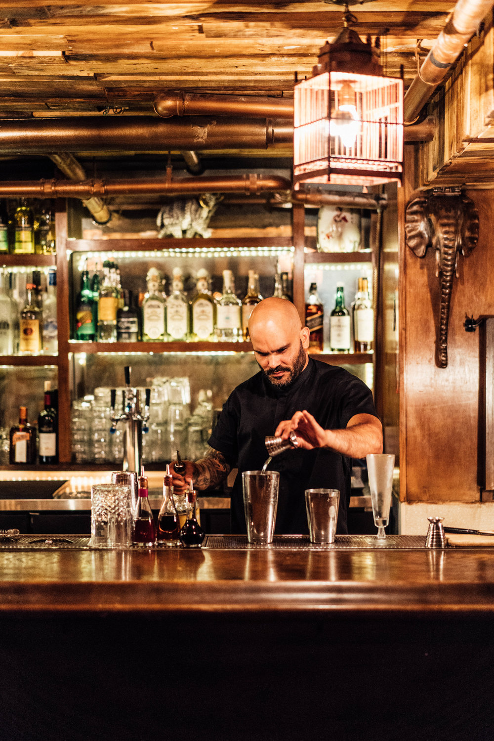 Bar Manager of Madame Siam,  Joel Martinez
