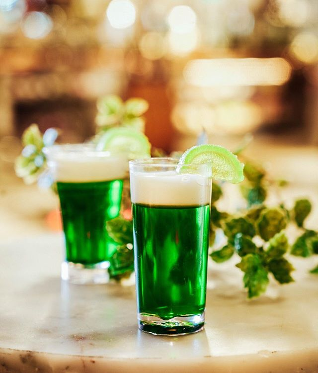 Happy St Patty's Day you lucky devils! We hope you all got your green beer and Irish Car Bomb fix for the next year — unless some of you weekend warriors out there celebrate these festive treats on the regular, in which, we salute you! 🍀