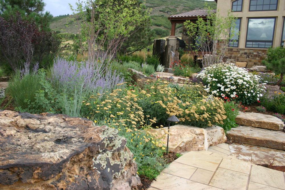 Flora distinctive landscapes is a boutiqe landscape design for Mountain landscape design