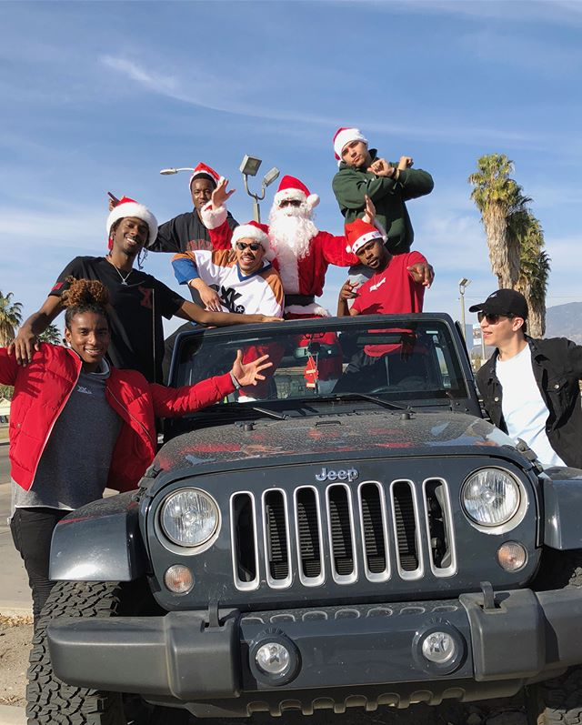 Always a priceless experience seeing the looks on the kidz faces when XK Santa comes to town! Thanks to everyone who came out for our 4th annual XK toy drive and donated toys.  We were able to giveaway over 300 toys to da kidz! #xkluhdakids @xtrakredit