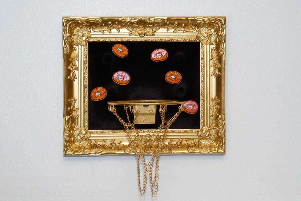 Dunkin Donuts 18 x 21 in