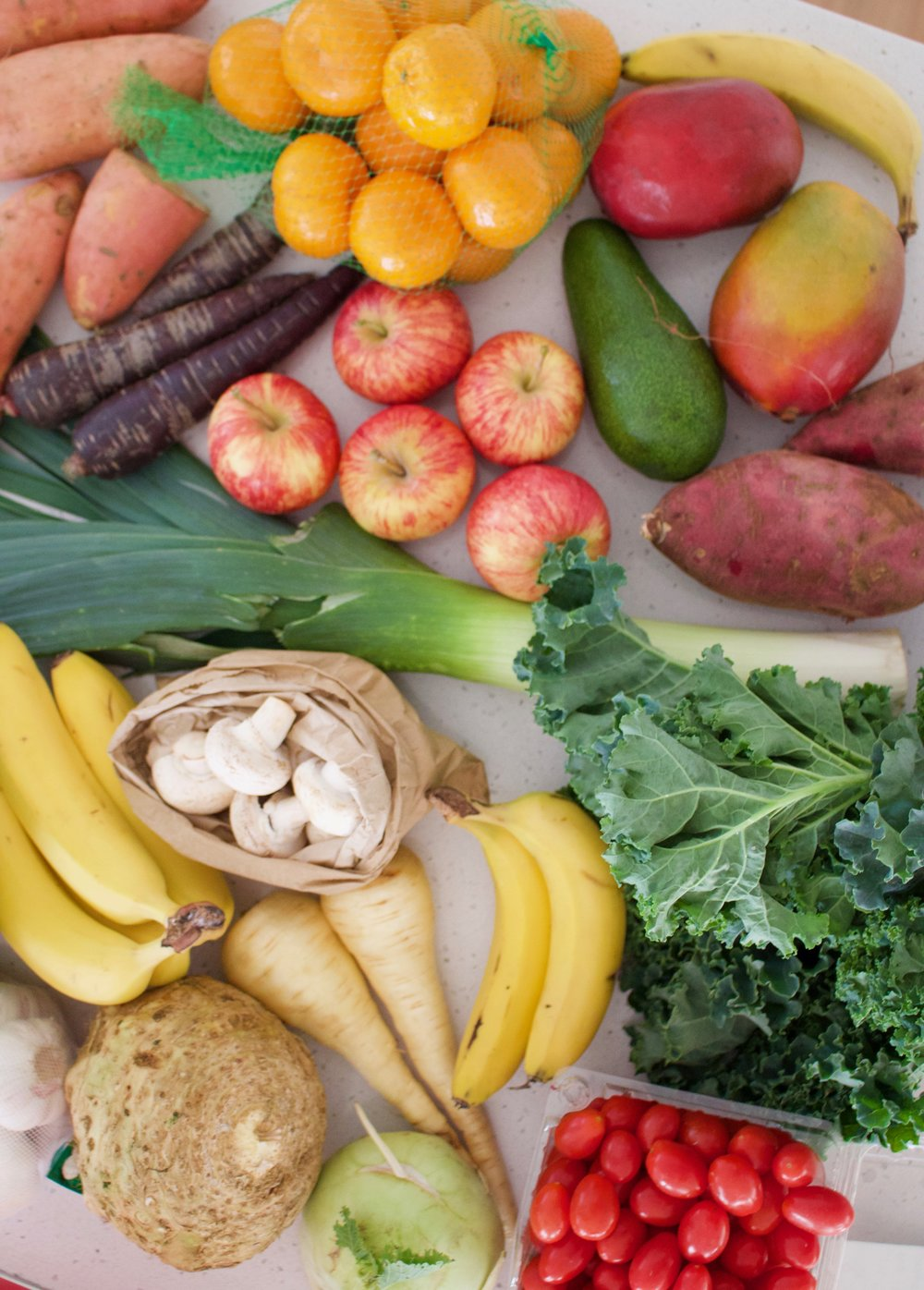 The Five Food Groups Of A Plant Based Diet Naturally Nina