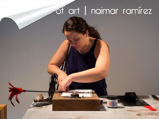 Naimar Ramírez. Photo courtesy of artist.