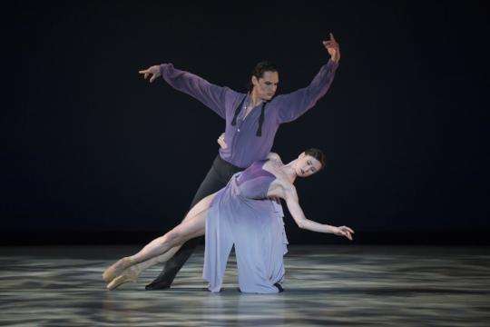 The Washington Ballet Tour de Force. Luis R. Torres & Aurora Dickie. Photo courtesy of Media4artists, Theo Kossenas and The Washington Ballet.