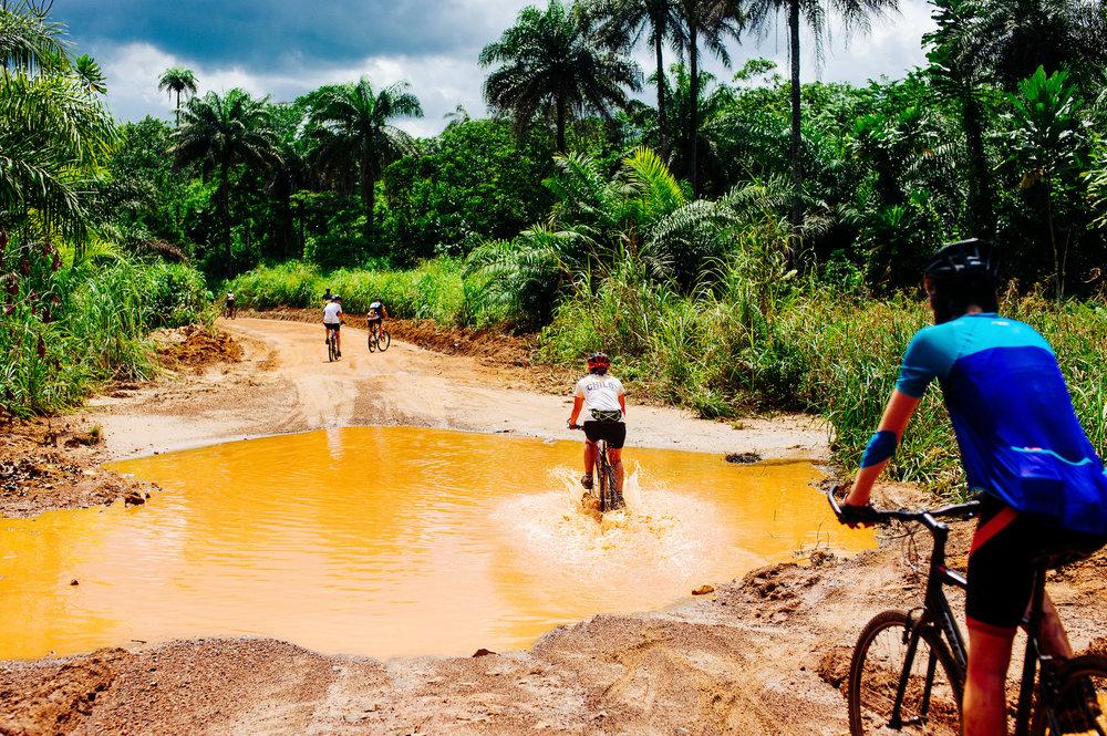 Cykelutmaning i vastafrika