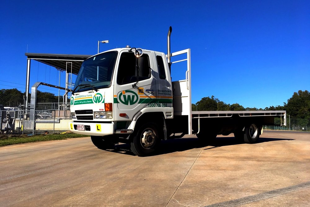 MR Truck Bus licence and QSAFE driving test
