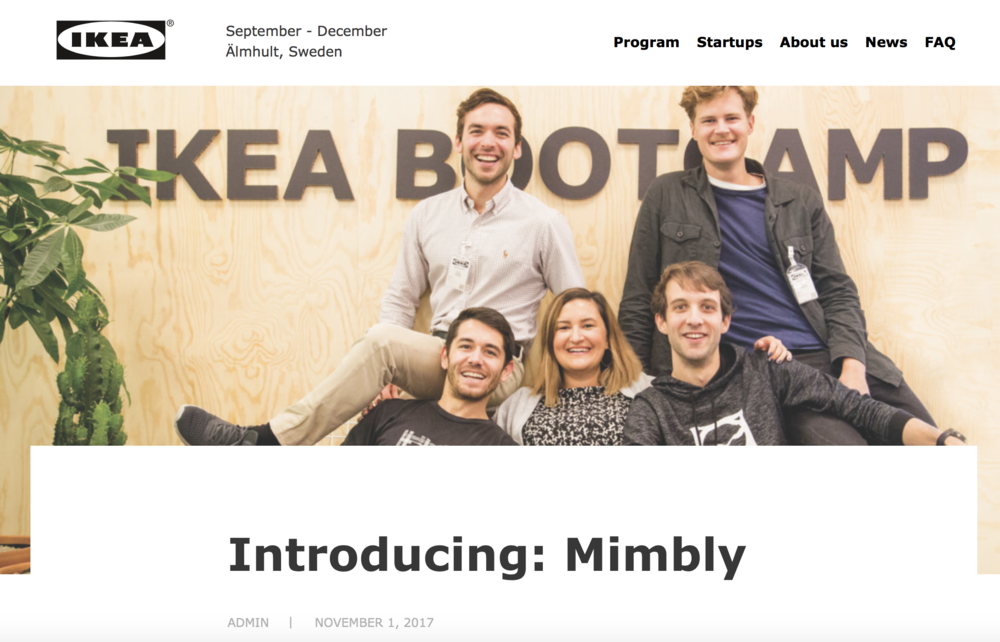 Introducing Mimbly - by Rainmaking