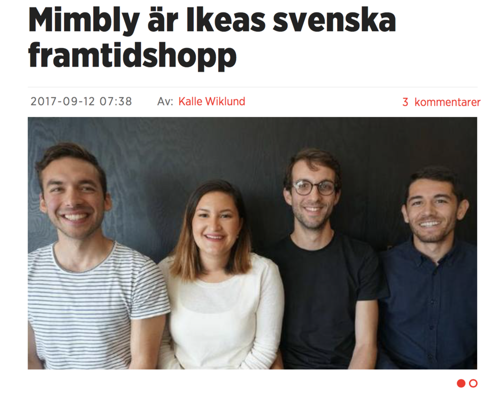 Mimbly is ikea's swedish future hope - by Kalle Wiklund
