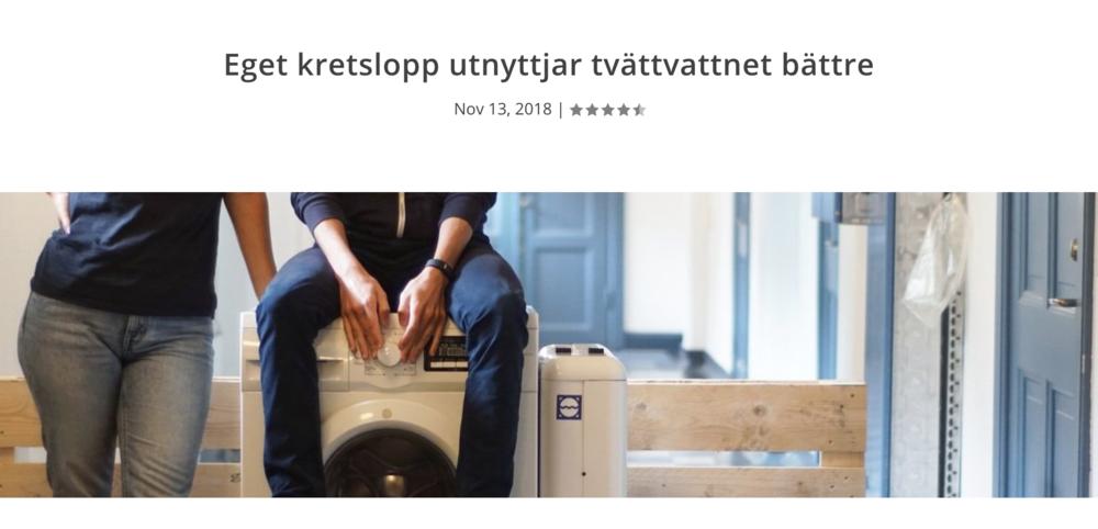 Miljönytta.se, November 2018