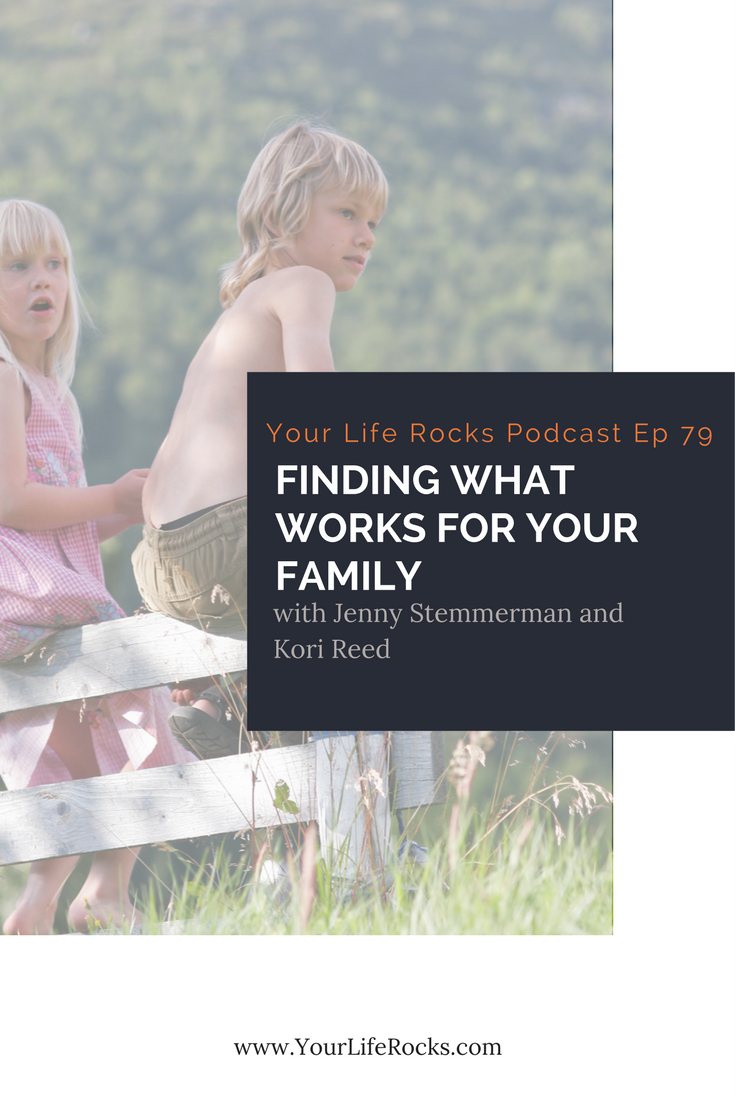 Episode 79: {Parenting} Finding What Works For Your Family with Kori Reed of Zag Zig Parenting