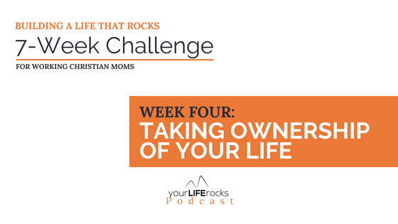 Week four challenge for working moms