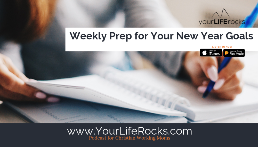 Episode 170: Weekly Prep to Reach Your Goals