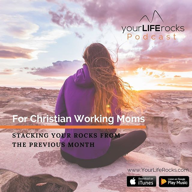What did God do in your life last month?  In this week's episode I guide you through an excise to unpack the highs and lows so you can give him praise and make note of what he has done.....like in Joshua 4, we are stacking the rocks! . . Life Balance Members, check out the community for your bonus material for this episode! . Catch the episode in the Your Life Rocks app or wherever you listen to podcasts. . . #podcastsforwomen #podcastformoms #podcastforchristians #monthlyreview #workingmom #lifebalance #appformoms