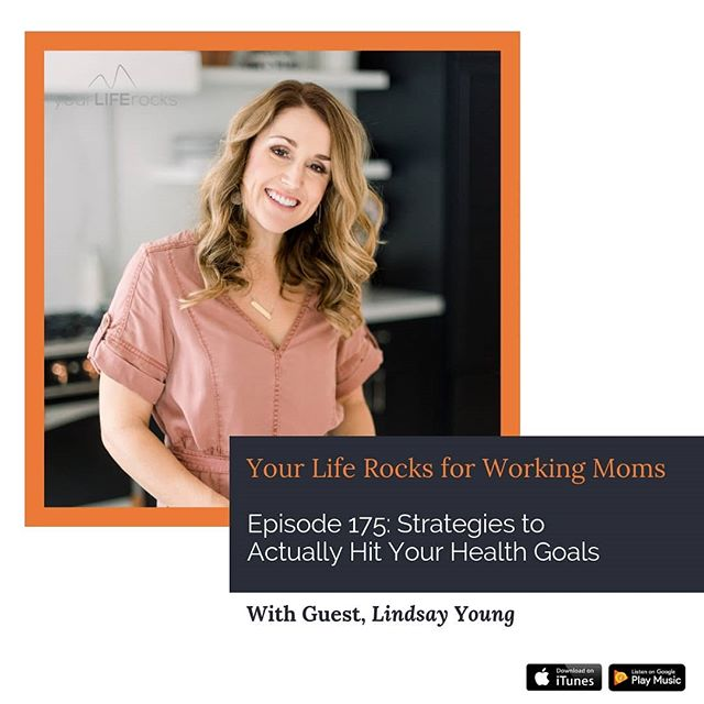 This last week on the podcast, I was so happy to be joined by @lindsay.lives.well . I love having Lindsay on the show because she is brilliant when it comes to health solutions for busy women. . In this episode, we are all about giving you strategies to keep yourself motivated to reach your health goals.  The tips are so good!  Have a listen, link in bio. . . #careermom #healthgoals #lifebalance #balancedeating #momlife #healthpodcast #mompodcast #honorgod #workingmom