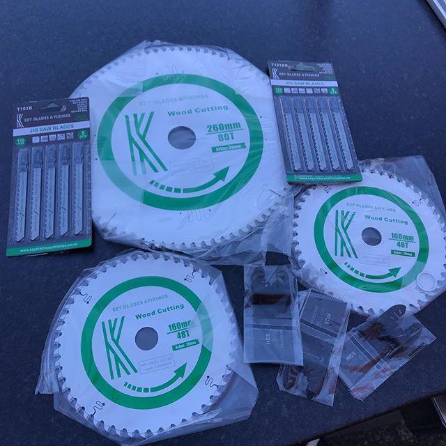 New week, new blades! @keybladesandfixings
