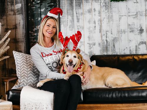 Christmas themed studio portrait taken by Orlando Pet Photography at West Elm Orlando-4.jpg