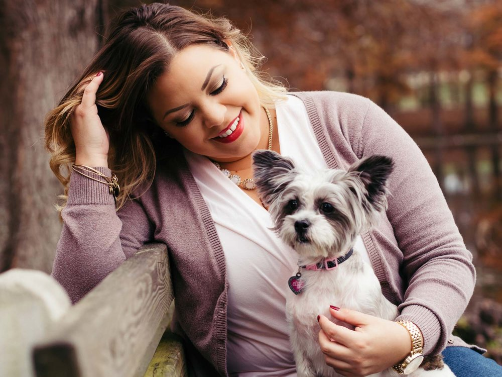 Outdoor-image-of-a-woman-and-her-pet-taken-at-Greenwood-Urban-Wetlands-by-Orlando-Pet-Photography.jpg